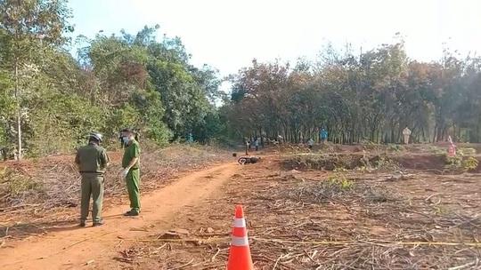 Vụ cô gái tử vong với vết thương trên ngực tại Bình Phước: Hung thủ là bạn trai của nạn nhân - Ảnh 1.