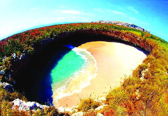 Thiên đường bí mật ở Mexico - Ảnh 1.