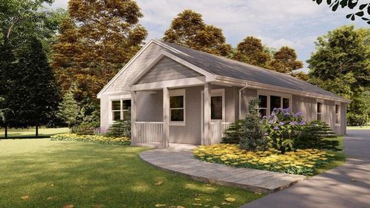 Đẹp ngỡ ngàng ngôi nhà in 3D, được xây dựng bằng robot - Ảnh 2.