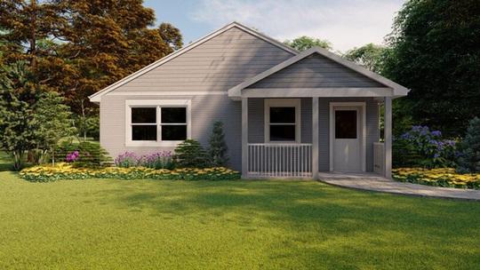 Đẹp ngỡ ngàng ngôi nhà in 3D, được xây dựng bằng robot - Ảnh 6.