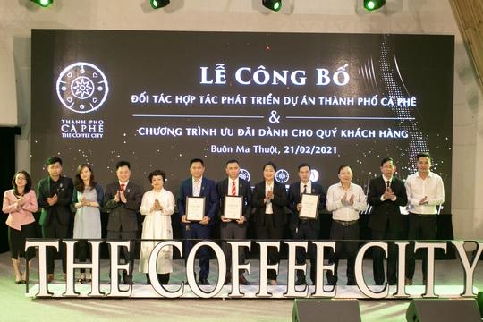 Dự án Thành phố cà phê thu hút các đối tác hàng đầu - Ảnh 1.