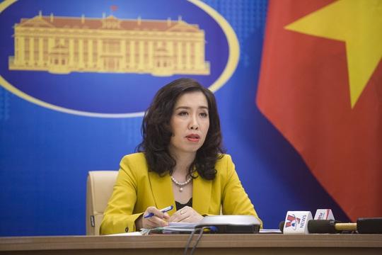 Người phát ngôn lên tiếng về thông tin Trung Quốc xây căn cứ tên lửa thứ 2 gần biên giới Việt Nam - Ảnh 1.