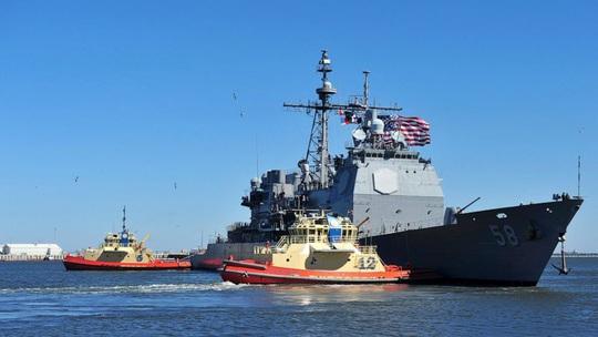 Hai tàu chiến Mỹ trúng đòn Covid-19 - Ảnh 1.
