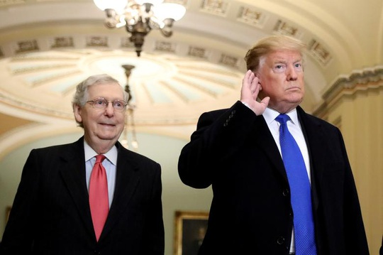 Lãnh đạo phe Cộng hòa tại thượng viện lại đổi ý về ông Trump? - Ảnh 1.