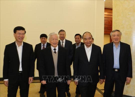Gặp mặt các nguyên Ủy viên Bộ Chính trị, Ban Bí thư, Ủy viên Trung ương Khóa XII - Ảnh 3.