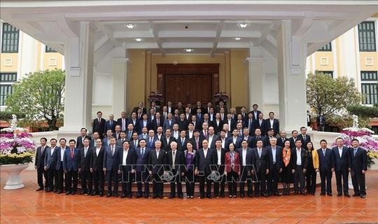 Gặp mặt các nguyên Ủy viên Bộ Chính trị, Ban Bí thư, Ủy viên Trung ương Khóa XII - Ảnh 8.