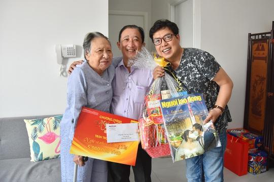 Mai Vàng nhân ái thăm nhạc sĩ Vũ Hoàng và NSND Lệ Thi - Ảnh 5.