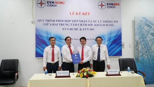 EVN SPC và EVN HCMC hợp tác để phục vụ khách hàng tốt hơn - Ảnh 1.