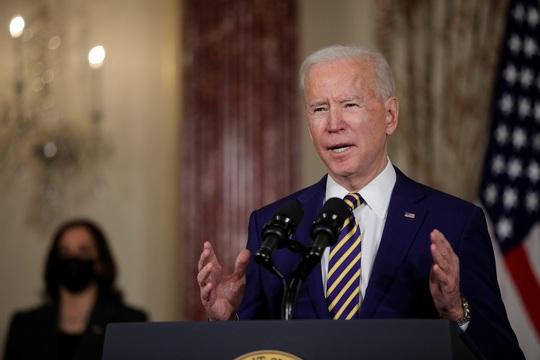 Tổng thống Biden ra thông điệp cứng rắn với Trung Quốc, Nga - Ảnh 1.