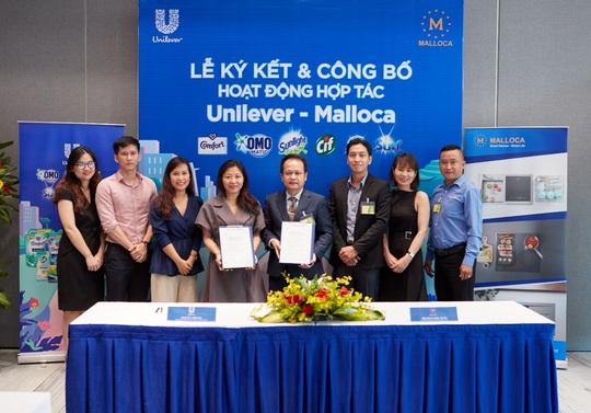 Thiết bị nhà bếp Malloca ký kết hợp tác chiến lược với Unilever - Ảnh 1.