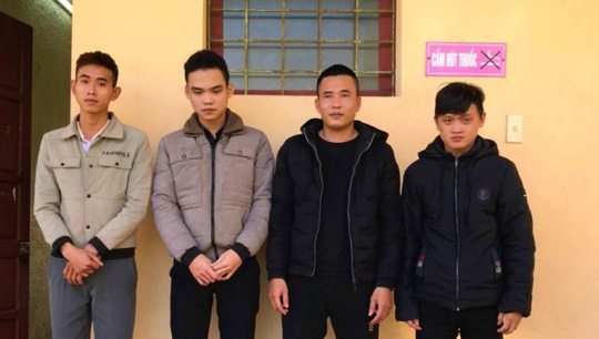 Bốn thanh niên chuyên hack Facebook lừa gần 100 triệu đồng - Ảnh 1.