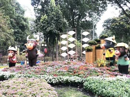 Khai mạc Hội Hoa Xuân Tân Sửu tại công viên Tao Đàn - Ảnh 3.