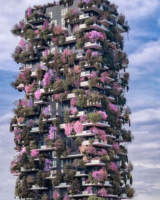 """""""Rừng chọc trời"""" ở Milan - Ảnh 8."""