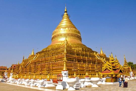 Ngôi chùa nạm 4.500 viên kim cương trên mái - Ảnh 2.