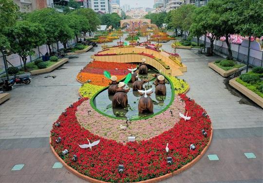 Nova Group tài trợ đường hoa tại TP.HCM, Phan Thiết và Biên Hòa - Ảnh 2.