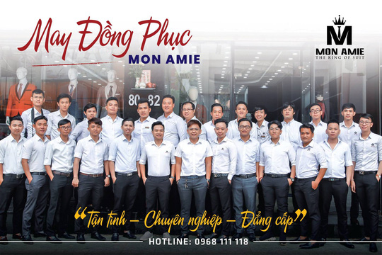 Mon Amie Veston – địa điểm may suit hàng đầu tại TP HCM - Ảnh 5.