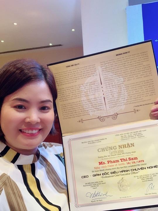 CEO Phạm Thị Sâm – Từ người trẻ tâm huyết với ngành nghề gia truyền đến giám đốc thương hiệu vươn xa khu vực - Ảnh 3.