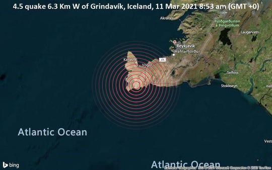 Iceland hứng 17.000 trận động đất trong 1 tuần, giới khoa học lo sợ - Ảnh 1.