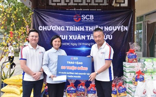 SCB tích cực tham gia các hoạt động nhân đạo, từ thiện - Ảnh 1.