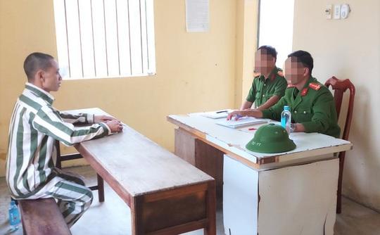 Phạm nhân tội Giết người trốn khỏi trại giam Bộ Công an đã bị bắt - Ảnh 1.
