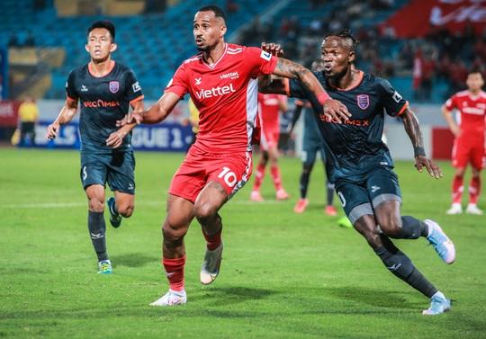 Ngọc Hải trở lại ghi bàn giúp CLB Viettel thắng đậm trước Bình Dương - Ảnh 5.