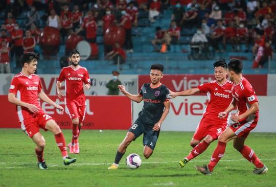 Ngọc Hải trở lại ghi bàn giúp CLB Viettel thắng đậm trước Bình Dương - Ảnh 14.