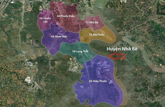Giá nhà đất huyện Nhà Bè không ngừng tăng - Ảnh 2.