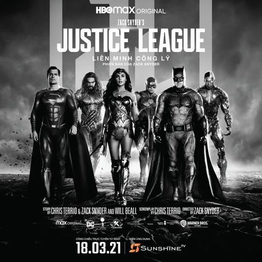 9 điều bất ngờ về bom tấn điện ảnh Zack Snyder's Justice League chiếu trên Sunshine TV - Ảnh 1.
