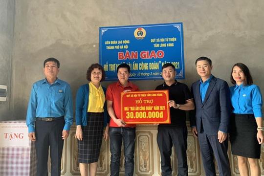 Hà Nội: Tập trung hỗ trợ công nhân khó khăn an cư - Ảnh 1.
