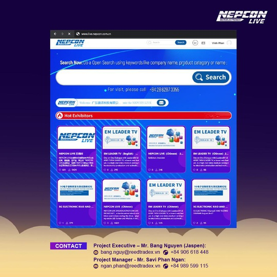 Lần đầu tiên Việt Nam đăng cai tổ chức Triển lãm điện tử Châu Á trực tuyến - Ảnh 1.