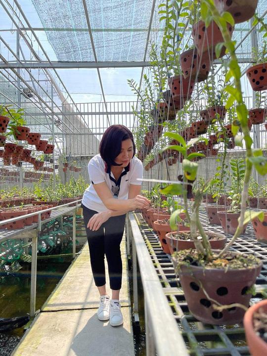 Nghệ nhân Thủy Royal: Đến với hoa lan từ những trải nghiệm trên thương trường - Ảnh 1.