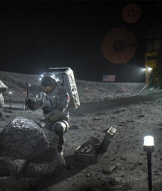 """Công nghệ """"siêu"""" hiện đại của ngôi nhà cho thuê trên Mặt Trăng - Ảnh 10."""