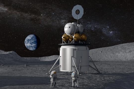 """Công nghệ """"siêu"""" hiện đại của ngôi nhà cho thuê trên Mặt Trăng - Ảnh 3."""