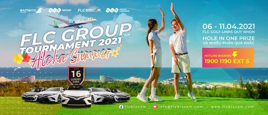 Giải đấu FLC Group Tournament 2021 trở lại với FLC Golf Links Quy Nhon - Ảnh 1.
