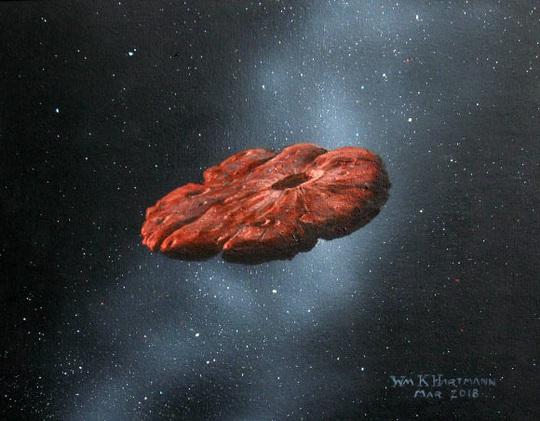 Hành tinh giống Sao Diêm Vương gửi vật thể lạ đi ngang Trái Đất? - Ảnh 1.