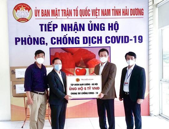 Tập đoàn Nam Cường tiếp sức Hải Dương phòng chống dịch Covid-19 - Ảnh 1.
