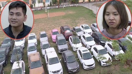 Cặp vợ chồng thuê hơn 70 ôtô đem bán lấy 40 tỉ đồng - Ảnh 1.