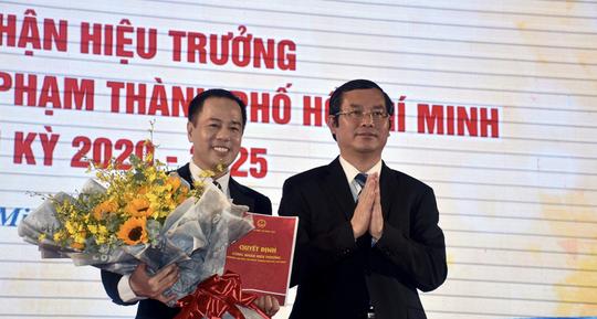 Trường ĐH Sư phạm TP HCM có thế hệ lãnh đạo mới - Ảnh 1.