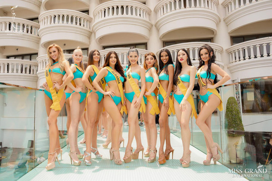 Hấp dẫn nhan sắc Hoa hậu Hòa Bình Thế giới 2020 diện bikini - Ảnh 5.