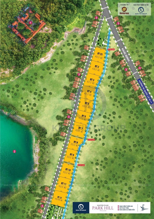 Đất ở riêng lẻ được thổi phồng thành dự án biệt thự nghỉ dưỡng Park Hill Villas ở Huế - Ảnh 4.
