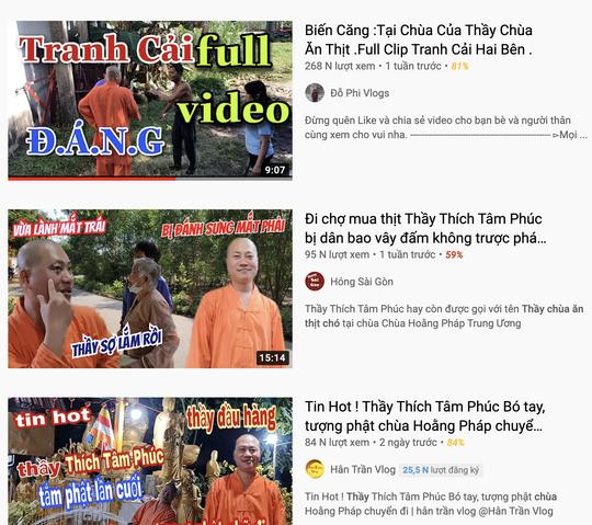 Công an mời nhiều Youtuber quay nội dung Thầy chùa ăn thịt chó ở Củ Chi - Ảnh 2.