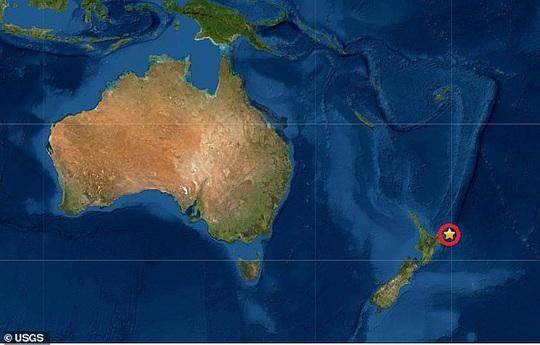 New Zealand hứng động đất lớn, nguy cơ sóng thần - Ảnh 1.