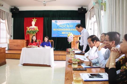 Quảng Nam họp báo thông tin về ngày hội lớn của phụ nữ - Ảnh 2.