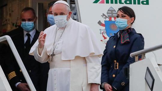 Giáo hoàng Francis thăm đất nước chiến tranh và dịch bệnh - Ảnh 1.