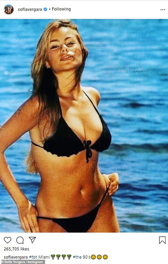 Thắng kiện hôn phu cũ, mỹ nhân Sofia Vergara liên tục... tung ảnh bikini - Ảnh 2.