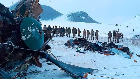 Trực thăng quân sự rơi, tướng Thổ Nhĩ Kỳ tử nạn - Ảnh 1.