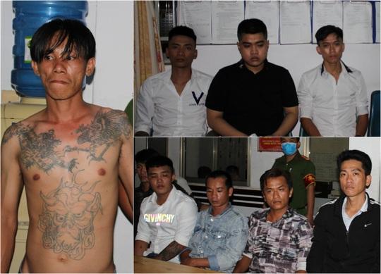 Minh Mập và Bình Xăm bị khởi tố liên quan vụ hỗn chiến có dùng súng K54 - Ảnh 2.
