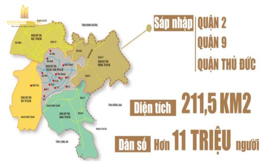 5 khu vực sẽ hình thành các đô thị mới quy mô lớn tại TP HCM - Ảnh 2.