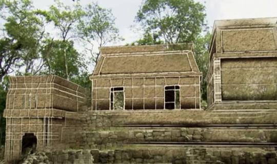 Mở kim tự tháp Maya, phát hiện đường vào một thế giới khác chưa từng biết - Ảnh 1.