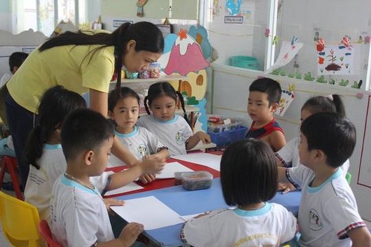 TP HCM: Lương giáo viên mầm non hợp đồng chưa phù hợp quy định - Ảnh 1.